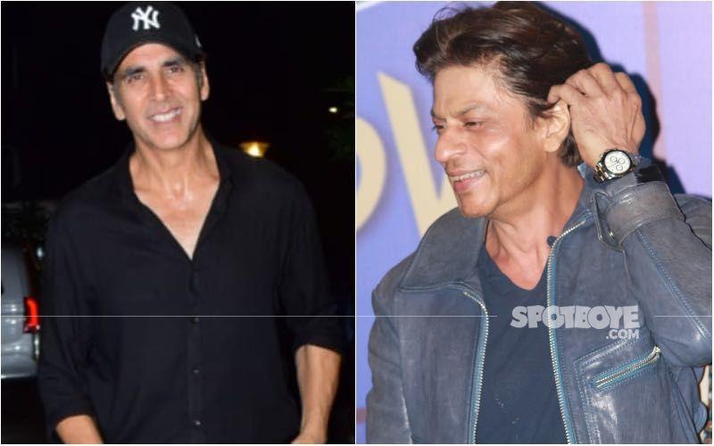 Akshay Kumar Makes A Call To Shah Rukh Khan At Fan's Request; Kapil Sharma Quips, 'SRK PCO Mein Kaam Karte Hain'-Watch