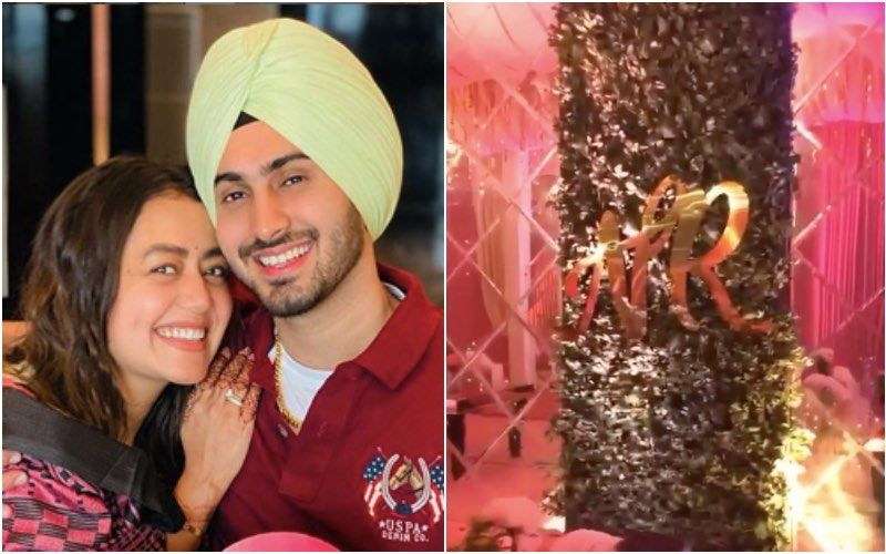 Neha Kakkar And Rohanpreet Singh Wedding: Couple Looks Lost In Each Other's Eyes During Their Sangeet Ceremony-INSIDE VIDEO