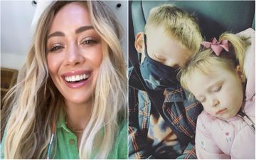 Pregnant Hilary Duff Hints At Being Negative For COVID-19 As She Reunites With Her Kids After Isolation
