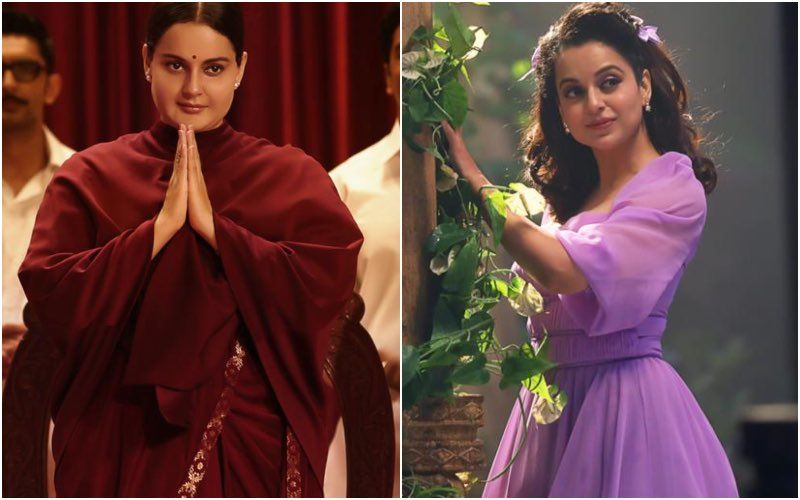 Ahead Of Thalaivi Trailer Launch, Kangana Ranaut Shares Glimpses Of Her Massive Transformation For The Film