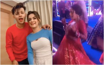 Neha Kakkar And Rohanpreet Singh Wedding: Avneet Kaur And Riyaz Aly Join Neha As The Bride Does A Naughty Yet Cute Step On Their Song Chocolate - VIDEO