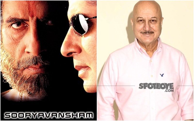 Anupam Kher Gives A Hilarious Response To Channel Promoting Amitabh Bachchan's Sooryavansham For The Millionth Time