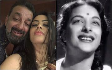 Sanjay Dutt's Daughter Trishala Dutt Remembers Grandmother Nargis Dutt; Shares A Video From Awaara And Says: 'I Love My Grandma'