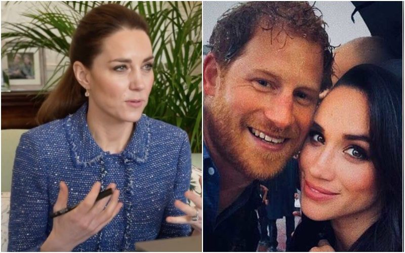 Kate Middleton Will Fly To Los Angeles To Confront Meghan Markle And Prince Harry About Their Tell-All Oprah Interview? Here's The Truth