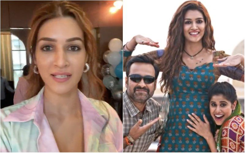 Kriti Sanon Celebrates Birthday With Paps; Mimi 'Went Into Labour Early And Delivers' 4 Days Early On Birthday Eve- Watch