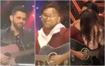 Bigg Boss 14: Rahul Vaidya And Jaan Kumar Sanu Have A Musical Face-Off; Nikki Tamboli Is Impressed, Plants A Kiss On Jaan's Cheek– VIDEO