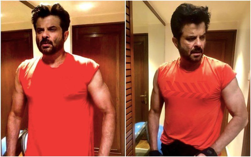 Anil Kapoor Always Wished To Post Pictures 'Showing Off His Biceps And Triceps' And At 63 He Fulfills His Dream
