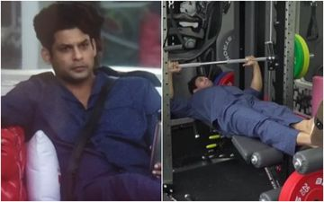 Bigg Boss 14: Sidharth Shukla's Fans Swoon Over Him As He Works Out In A Night Suit And Slippers – VIDEO