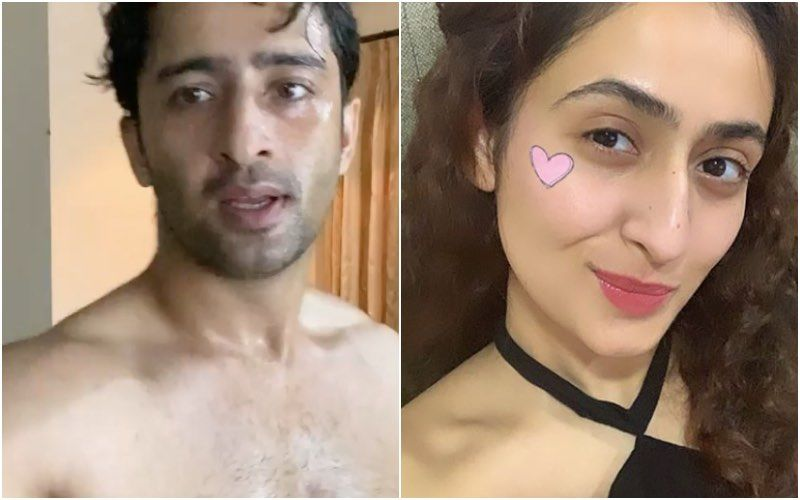 Shirtless Shaheer Sheikh Shares A Video Of His Intense Workout Session; Rumoured GF Ruchikaa Kapoor Has The Hots For Him