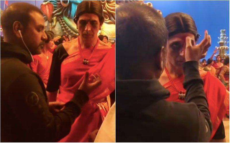 Laxmii: Akshay Kumar Shares A BTS Video From Bam Bholle Song Which Shows Raghava Lawrence Giving Final Touches To His Transgender Look