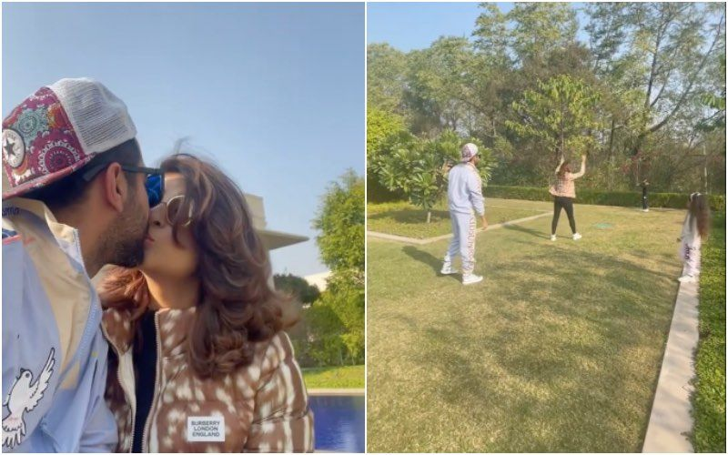 Ayushmann Khurrana And Tahira Kashyap Enjoy A Fun Outing With Kids; Couple Steals A Kiss Amid Cricket Match – VIDEO