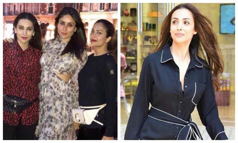 Kareena Kapoor Khan, Karisma Kapoor And Amrita Arora Are Slaying In London But The Photo Looks Incomplete Without Malaika Arora