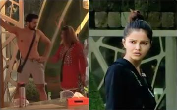Bigg Boss 14: Rakhi Sawant Pulls Abhinav Shukla's Shorts' Strings; Furious Rubina Dilaik Warns, 'Apni Haddein Cross Mat Kijiye' - VIDEO