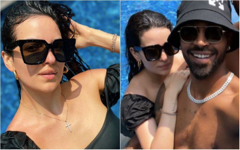 Natasa Stankovic And Hardik Pandya Go For A Swim Sans Agastya; Former Shares Uber Hot Snaps Straight From The Pool – See Pics
