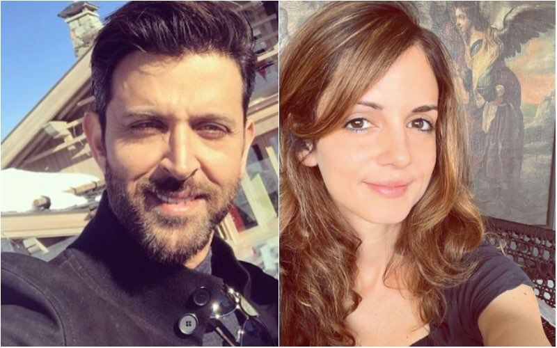 Sussanne Khan Feels She Is A Boy As She Poses In Ripped Jeans; Hrithik Roshan Has A Compliment In Store For Her