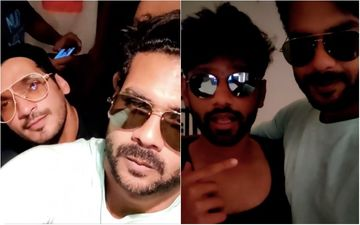 Vishal Aditya Singh Gives A Glimpse Of An 'Epic Night' With Khatron Ke Khiladi 11 Co-Contestants Arjun Bijlani, Rahul Vaidya; Jams On A Bihari Song- Watch