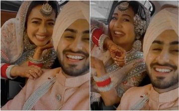 Neha Kakkar-Rohanpreet Singh Wedding: After Calling Themselves 'Sabyasachi Couple' Neha Serves Gorgeous Snaps Decked Up In 'Dream Outfits'