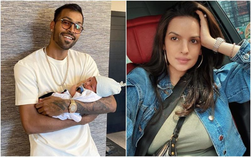 Hardik Pandya Flashes His Brightest Smile As He Holds His Son Agastya His Greatest Gift In His Arms; Natasa Stankovic Is All Heart