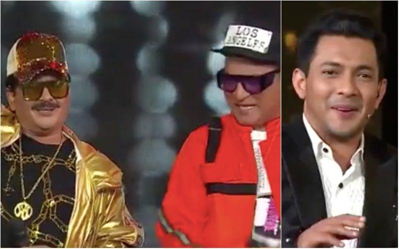 Indian Idol 12: Udit Narayan And Abhijeet Bhattacharya Make A Swag Entry On The Show; Aditya Narayan Is Shocked — VIDEO