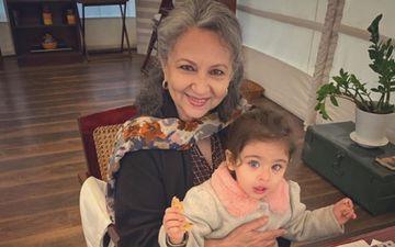 Sharmila Tagore's 75th Birthday: Veteran Celebrates It With Granddaughter Inaaya Kemmu Relishing On Pancakes