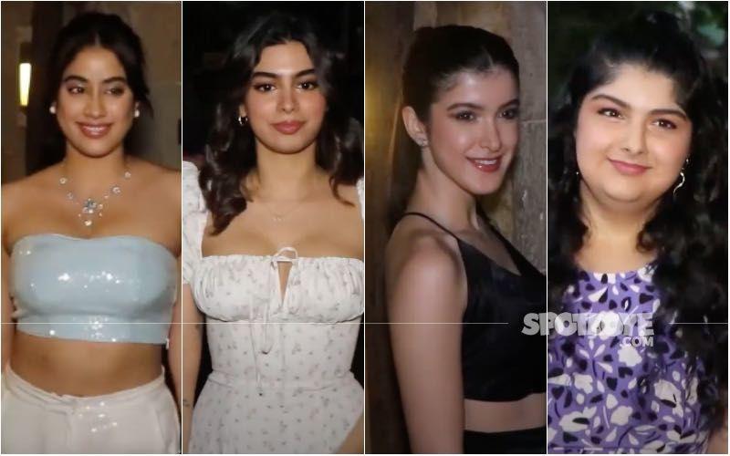 Rhea Kapoor-Karan Boolani's Wedding Party: Kapoor Sisters Janhvi, Khushi, Shanaya And Anshula Splash Summer Vibes Amidst Gloomy Monsoon- WATCH VIDEO