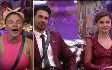 Bigg Boss 14: Rakhi Sawant Cries Inconsolably And CONFESSES She Will Do Anything For Abhinav Shukla; Says She Can See Love In His Eyes – VIDEO