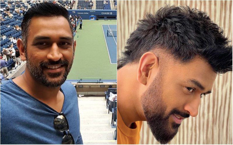 Mahendra Singh Dhoni Gets A Sassy Makeover As He Flaunts His Cool Faux Hawk Style With Panache; Thanks To Aalim Hakim- See Pics