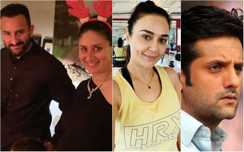 When Kareena Kapoor Wanted To Have A Sleepover At Saif Ali Khan's House With Preity Zinta And Fardeen Khan- Watch