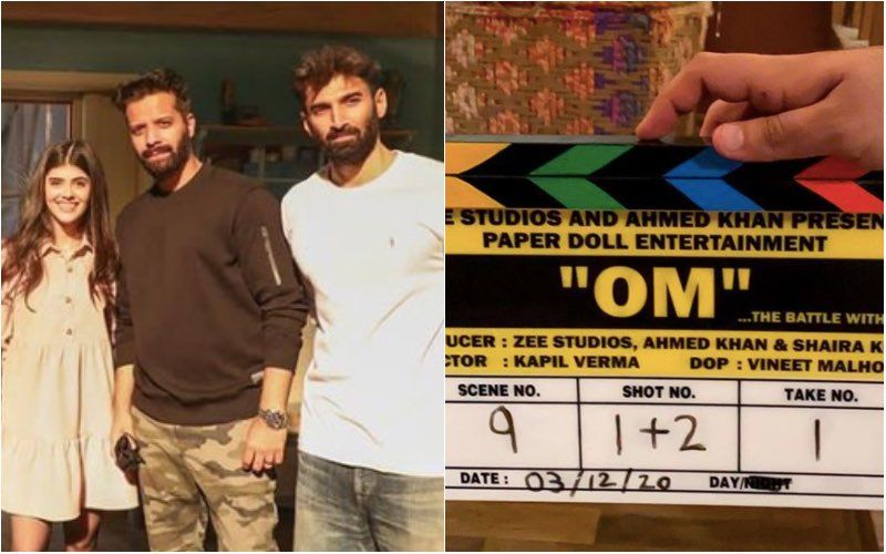 Om: The Battle Within: Aditya Roy Kapur And Sanjana Sanghi Kick Start Their Shoot; Gives A Little Peek Of Day 1 From The Sets - See Pics