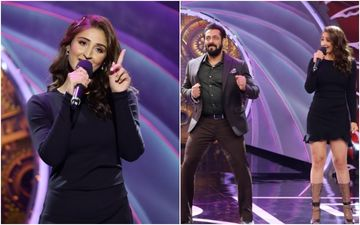 Bigg Boss 14: Dhvani Bhanushali Graces The Show To Promote Her Blockbuster Song Nayan; Amplifies The Entertainment Level With Salman Khan