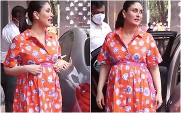 Kareena Kapoor Khan's Orange Pottery Print Dress' Cost Will Make Your Jaws Drop And How; Don't Say We Didn't Warn You