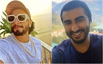 Ranveer Singh Enjoys 'Haseen Mausam' With Cool Shades And Pearl Necklace; Arjun Kapoor Hilariously Comment: 'Tu Heera Nahi Moti Hai'