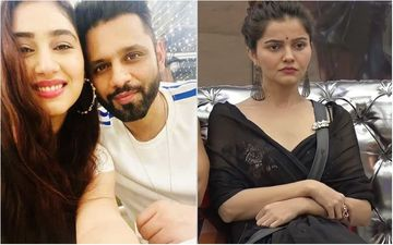 Bigg Boss 14: Rahul Vaidya's Ladylove Disha Parmar Takes A Dig At Rubina Dilaik And Her Flawed Marriage After A Spat With Rahul