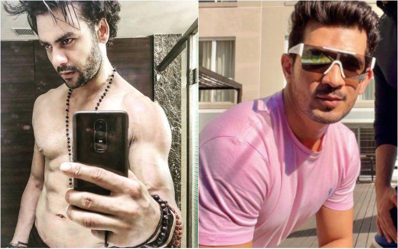 Khatron Ke Khiladi 11's Evicted Contestant Vishal Aditya Singh Drops His Shirt As He Poses With Sana Makbul And Varun Sood; Arjun Bijlani Calls It A 'Baywatch' Moment