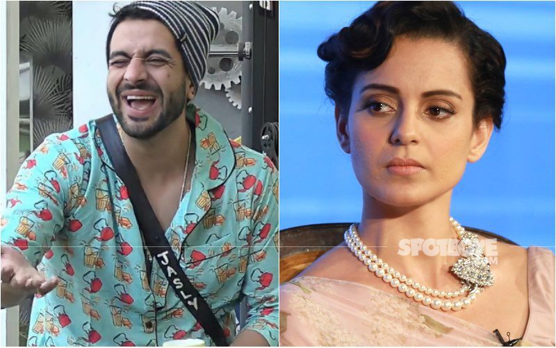 Bigg Boss 14's Aly Goni Thinks Twitter Is Clean; Is He Taking A Jibe At Kangana Ranaut After Her Account Gets Suspended?