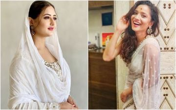 Rashami Desai And Ankita Lokhande Showcase Their Ethereal Bridal Avatar As They Sizzle In White - Whose Look Impressed You The Most?