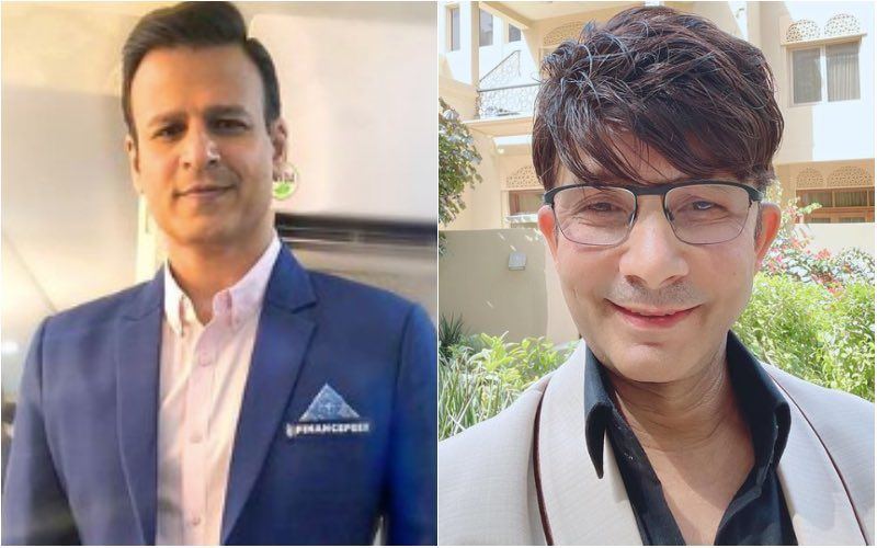 Kamaal R Khan Lauds Vivek Oberoi Amid Ugly Spat With Salman Khan; Calls Him 'Bhai'