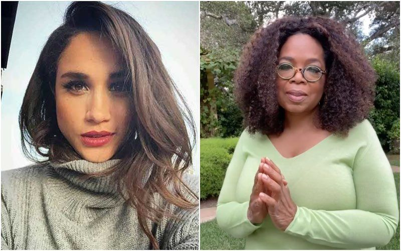Meghan Markle Sent A Text To Oprah Winfrey While The Tell-All Interview Was Airing; Read Her Text Here