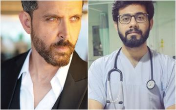 Hrithik Roshan Applauds COVID Duty Doctor For His Performance On Ghungroo; Doc Gives A Heart Touching Response