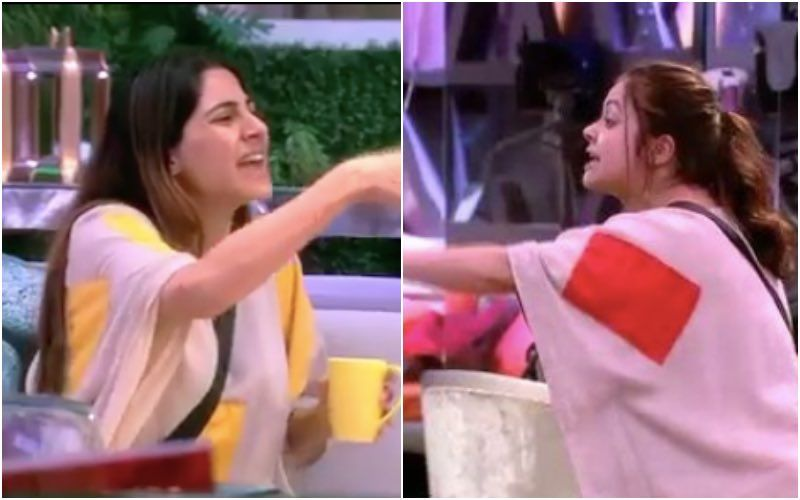 Bigg Boss 14: Devoleena Bhattacharjee Calls Nikki Tamboli By A Nasty Name After She Hungrily Hogs On Housemates' Food
