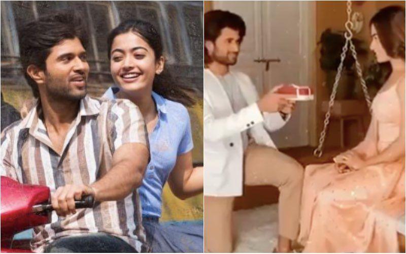 Vijay Deverakonda And Rashmika Mandanna Look So In Love As He Goes Down On His Knee For His Dear Comrade Co-Star – VIDEO