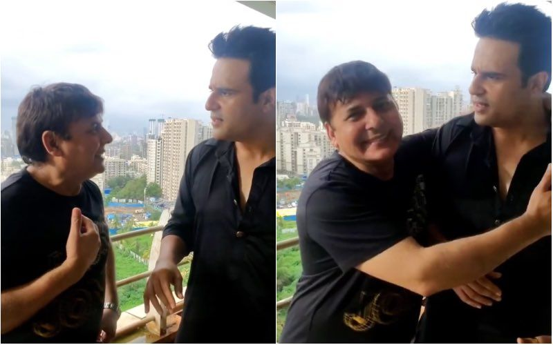 Krushna Abhishek Refuses To Recognise Friend Sudesh Lehri Without A Mask; This Reunion Video Will Crack You Up- Watch