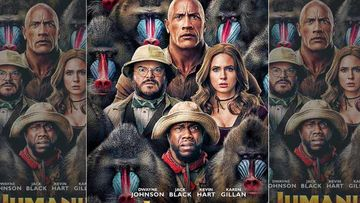 Jumanji: The Next Level Poster: Dwayne Johnson, Jack Black, Kevin Hart, Karen Gillan Find Themselves In The Middle Of Mandrill Monkeys