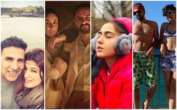 Stars' New Year Plans: Saif Ali Khan-Kareena Kapoor, Akshay Kumar, Ayushmann Khurrana, Hrithik Roshan, Sara Are Headed HERE