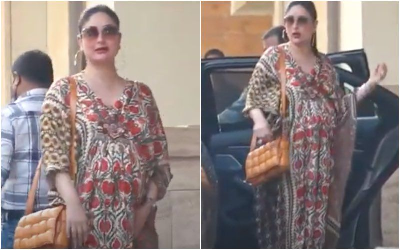 Kareena Kapoor Khan Shows That The Kaftan Is A Pregnant Lady's Best Friend; Taimur's Mama Looks Spectacular In Her Latest Outing