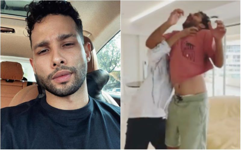 Siddhant Chaturvedi Gives Chokeslam To Director For Not Unveiling Film's Title; Says 'We'll Just Call It Shakun Batra's Next' – VIDEO