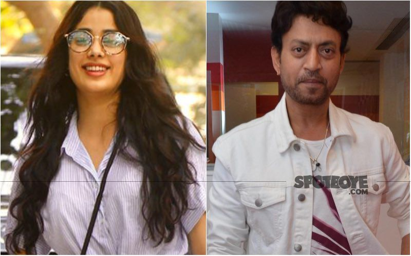Janhvi Kapoor Enjoys A Movie Night Watching An 'ICONIC' Irrfan Khan Film; Can You Guess The Film's Name?