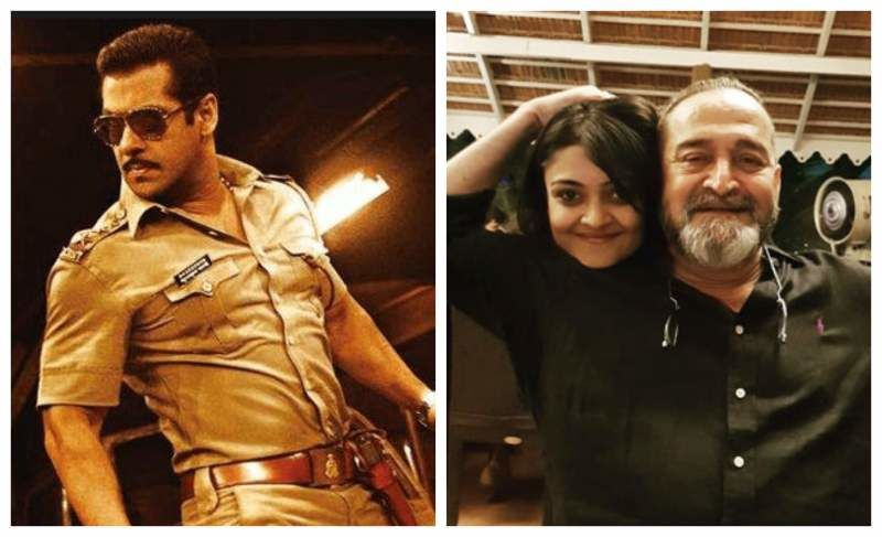 Salman Khan Will Romance Mahesh Manjrekar's Daughter Saiee In Dabangg 3