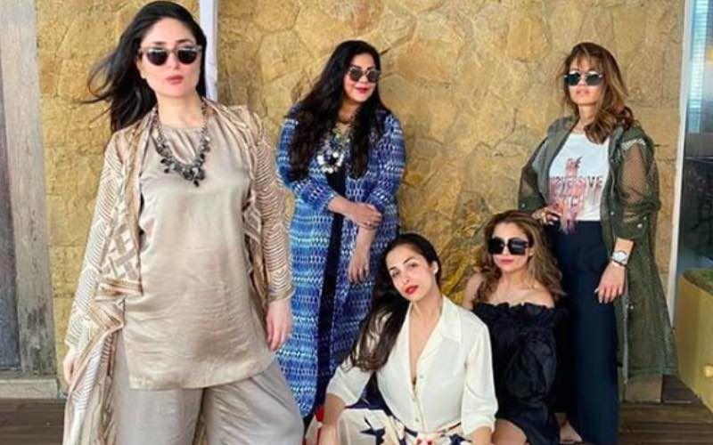 Preggers Kareena Kapoor Khan Shares A Winsome Picture Of Her Sassy Squad Featuring Malaika Arora And Amrita Arora
