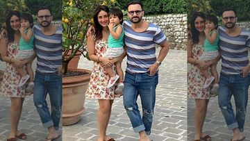 Kareena Kapoor Reveals Taimur Ali Khan Has The Most Fun With Her And Saif Ali Khan; She Hopes That It's Always The Same